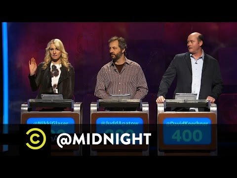 @midnight w/ Chris Hardwick (@Nerdist) - #HashtagWars - #RuinAWebsite (Comedy Central)