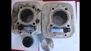 7. Kawasaki Eliminator 125 big bore cylinder