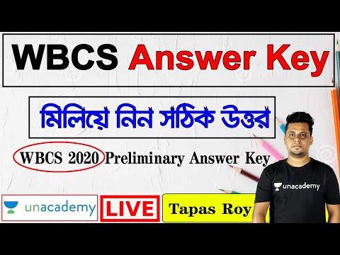 WBCS Prelims 2020 Answer Key | WBCS 2020 Paper Analysis & Cut off in Bengali & English | Tapas Roy