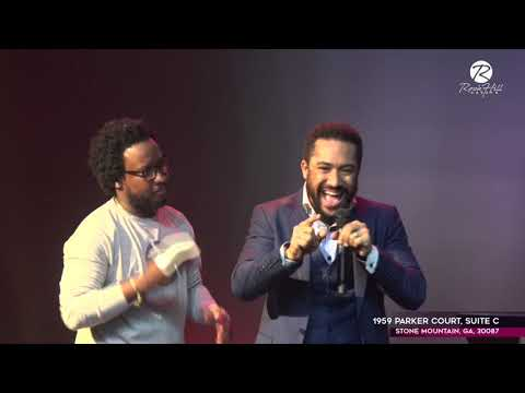 Majid Michel speaks At RockHill Church with Dr. Sonnie Badu