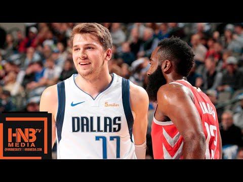 Houston Rockets vs Dallas Mavericks Full Game Highlights | 12.08.2018, NBA Season