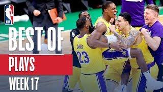 Download Video NBA's Best Plays   Week 17 MP3 3GP MP4