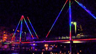 Trafalgar East Australia  city photo : Trafalgar Bridge East Perth Exterior Lighting Installation.