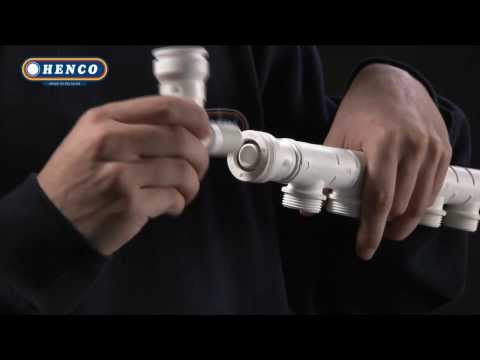 Инсталляция трубой Henco
