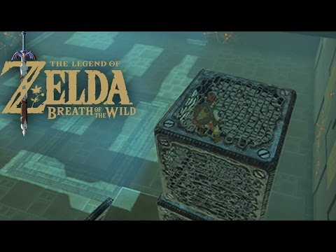 The Legend Of Zelda : Breath Of The Wild - Sanctuaire De Wago'Kata