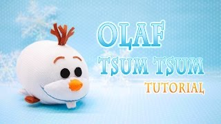 DIY Disney Frozen Olaf Tsum Tsum Plushie - Free pattern! - YouTube