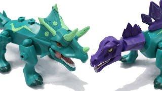 Chào các em đến với kênh giải trí Toys4Children. Hôm nay anh Tom sẽ giới thiệu với các em bộ đồ chơi lai ghép khủng long Jurassic World. Bộ đồ chơi gồm có 2 chú khủng long Stegosaurus và Triceratops. Chúng ta có thể pha trộn các bộ phận giữa 2 chú khủng long này để tạo ra những chú khủng long lai ghép ngộ nghĩnh đó.Video made by Toys4Children (Toys for children)Please LIKE & SUBSCRIBEToys4Children - Kênh dành cho trẻ emToys4Children is a channel for children