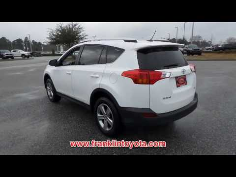 USED 2015 TOYOTA RAV4 FWD 4DR XLE at Franklin Toyota Used #S2969