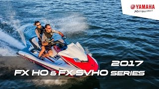 5. 2017 FX HO & FX SVHO Series | Luxury Performance WaveRunners