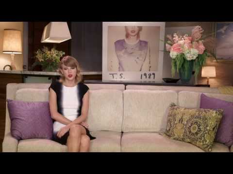 NEW - Taylor Swift talks about