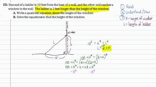 Intermediate Algebra - Solving Quadratic Equations by Factoring (Part B)