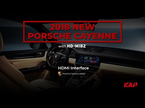 PORSCHE CAYENNE 2018 WITH ANDROID SYSTEM (ROIK 10)