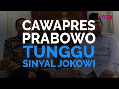 Cawapres Prabowo Tunggu Sinyal Jokowi