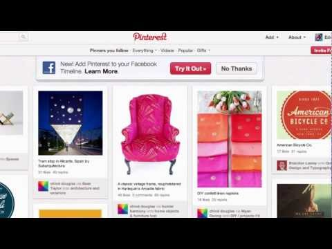 How to link facebook to your Pinterest account. Linking Facebook and Pinterest.