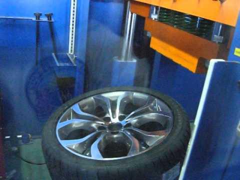 Прочность колёсных дисков WSP Italy W674 AURA на удар спицы (БМВ)