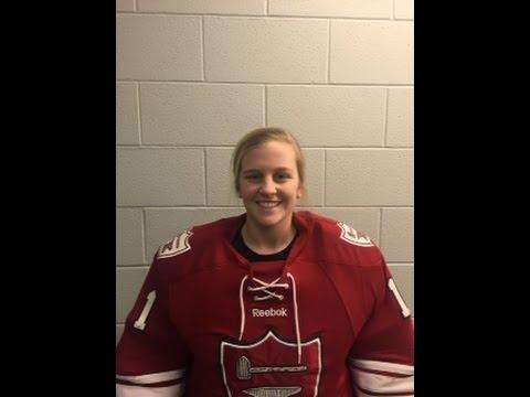 Prospect Video: Caroline Silk (Middlesex goalie)
