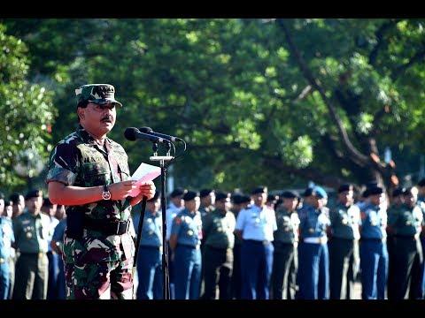 Kapuspen TNI Berikan Penghargaan Terhadap Satuan Penerangan Terbaik