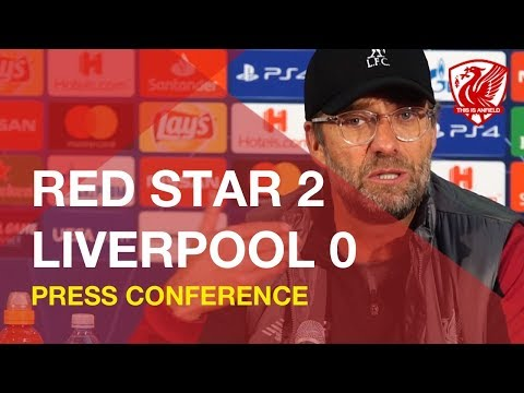 Red Star 2-0 Liverpool | Jurgen Klopp Press Conference