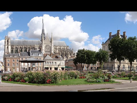 Visiting Amiens Cathedral, Cathedral in Amiens, France - Okey Dokey Smokey Track