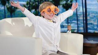 Video Ellen Meets a 6-Year-Old Science Podcaster MP3, 3GP, MP4, WEBM, AVI, FLV Januari 2019