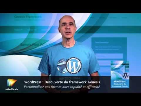 WordPress : Découverte du framework Genesis – trailer | video2brain.com