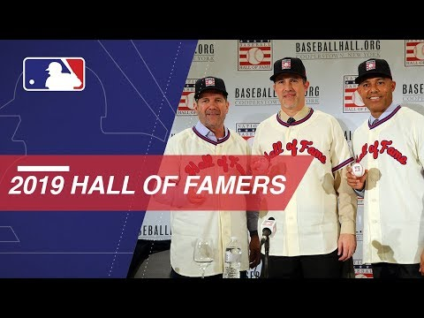 Video: Hall of Fame Class of 2019 is introduced
