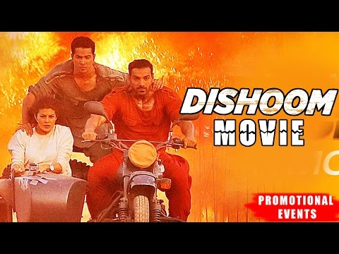 Dishoom Movie (2016) Promotional Events   John Abraham, Varun Dhawan, Jacqueline Fernandez