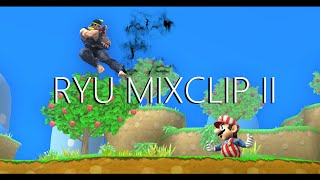 【SSB4】Ryu Mixclip II