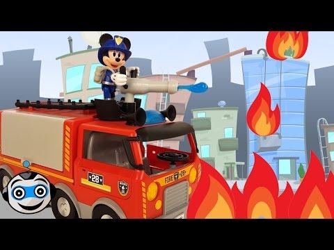 Camión de Bomberos ¡Al Rescate! de Mickey