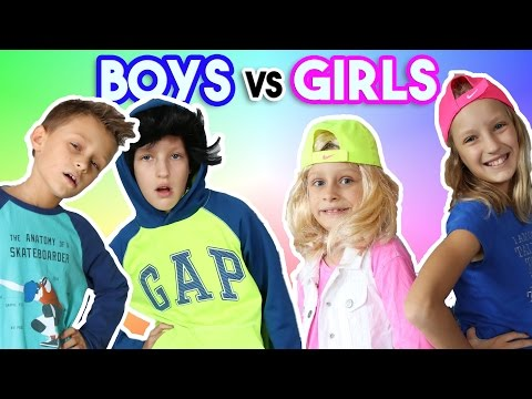 Sleepover GIRLS vs BOYS