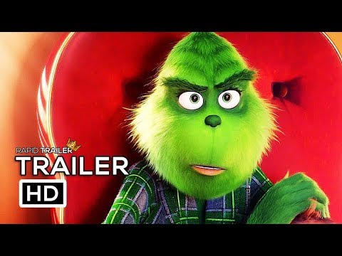 THE GRINCH Teaser Trailer (2018) Benedict Cumberbatch Animated Movie HD