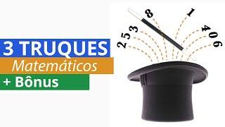 Video 3 truques matemáticos para facilitar os Cálculos. MP3, 3GP, MP4, WEBM, AVI, FLV Juli 2017