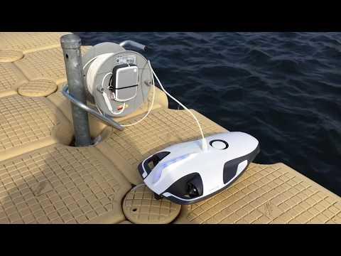 Máy dò kho báu, Vàng, Kim loại dưới nước  Underwater Drone for Treasure Hunting / ROV Metal Detecting