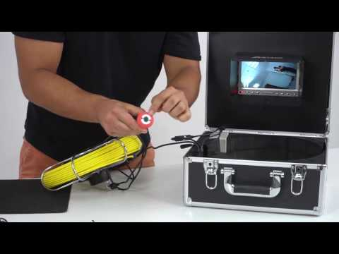 Anysun Drain Pipe Sewer Inspection Camera AS7D1NODVR20M