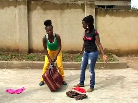 Kansiime Anne the suspicious host. African comedy.