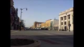 Arkansas City (KS) United States  City pictures : Arkansas city KS downtown Time lapse Video