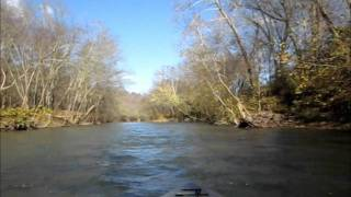 Trip on the three forks of the Kentucky River on Pool 14 near Beattyville, KY November 7, 2011 video by Ken Cooke and Jeff...