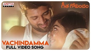 Video Vachindamma Full Video Song || Geetha Govindam Songs || Vijay Devarakonda, Rashmika Mandanna MP3, 3GP, MP4, WEBM, AVI, FLV Desember 2018
