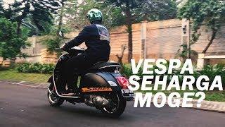 10. #49 - VESPA GTS 300 SUPER SPORT - Vespa Seharga Moge? #Testride #MotovlogIndonesia