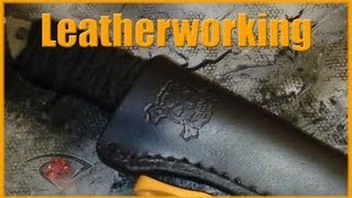 Leatherworking Custom Knife Sheath