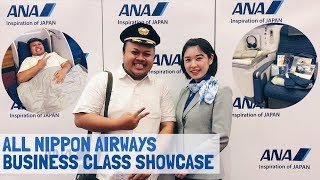 All Nippon Airways ANA Business Class Showcase Event Jakarta