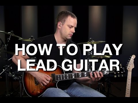 Learn How To Play Lead Guitar - Lead Guitar Lesson #1 (видео)