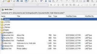 Creating A Website Using FrontPage : How To Create A Web Page With FrontPage
