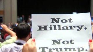В Филадельфии проходят массовые аресты противников Хиллари Клинтон