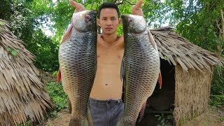 Video Primitive Technology: Cooking Two Big Fish Soup For Lunch MP3, 3GP, MP4, WEBM, AVI, FLV April 2019