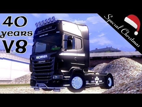 Scania 40 Years of V8 Skin