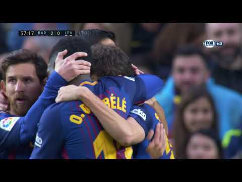 Barcellona vs Levante 3-0 ● All Goals & Highlights - La Liga 7/1/2018 HD