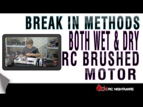 Brushed motor break-in 2