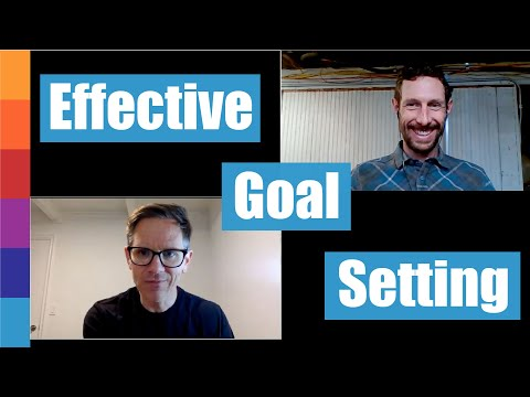 Ask Coach Nate 9: Goals and Goal Setting, a conversation with Gregory and Nate