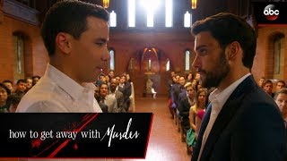 Video Connor and Oliver's Wedding - How To Get Away  With Murder MP3, 3GP, MP4, WEBM, AVI, FLV September 2019